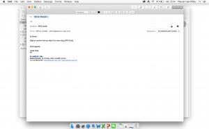 Beim Schreiben Ihrer nächsten E-Mail sehen Sie rechts oben mehrere neue Felder.